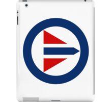 Royal Norwegian Air Force Roundel iPad Case/Skin