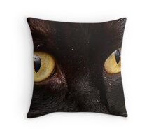 The Eye is the Window to the Soul Throw Pillow