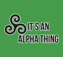 Alpha Thing Kids Clothes