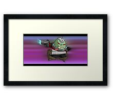 lil' horace crumb... Framed Print