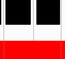 Walt Disney Monorail (horizontal) Sticker