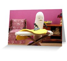 Fruit Chores Greeting Card
