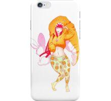 Ananas pants iPhone Case/Skin