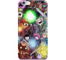Adventure Time - Smash bros crossover iPhone Case/Skin