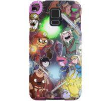 Adventure Time - Smash bros crossover Samsung Galaxy Case/Skin