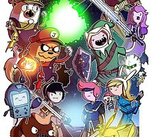 Adventure Time - Smash bros crossover by Fapthesystem