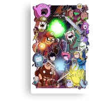 Adventure Time - Smash bros crossover Canvas Print