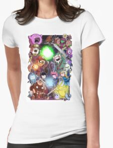 Adventure Time - Smash bros crossover Womens Fitted T-Shirt