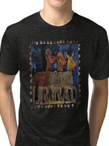 Goats of Ur, Iraq Tri-blend T-Shirt