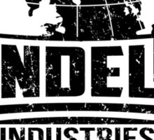 Vandelay Industries (Black) Sticker