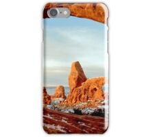 Turret Arch Through The Window iPhone Case/Skin