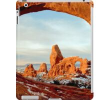Turret Arch Through The Window iPad Case/Skin