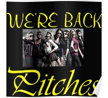 WE'RE BACK PITCHES Poster