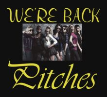 WE'RE BACK PITCHES Kids Clothes
