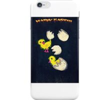Happy Easter, eggs hatched iPhone Case/Skin