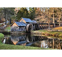 Mabry Mill Sunset Photographic Print