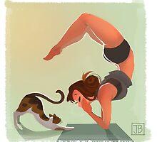 Yoga Time by Julia Blattman