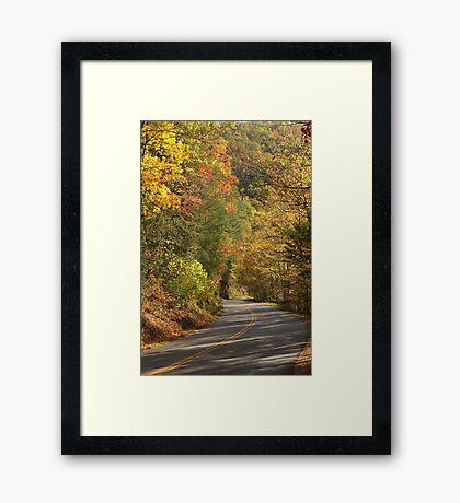 Beautiful Drive Framed Print