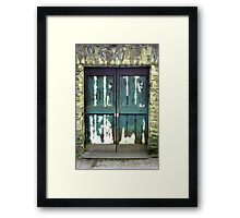 Italian Doorway Framed Print