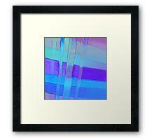 Ribbon Blues Framed Print