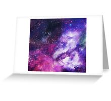 Space Greeting Card