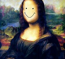 Mona Lisa Smile by FrootShop