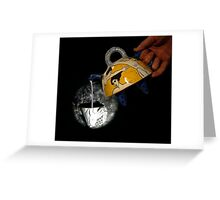 Pinhole Pour Greeting Card
