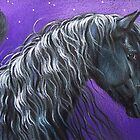Night Pegasus by Elena Kolotusha