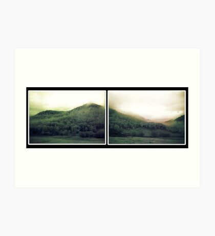 muted landscape #4 Art Print