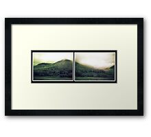 muted landscape #4 Framed Print