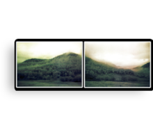 muted landscape #4 Canvas Print