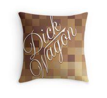 Mosaic 1480 - DickWagon Throw Pillow