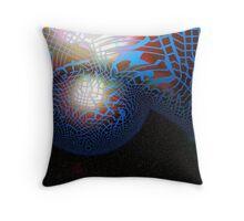 Cosmic Drop Throw Pillow