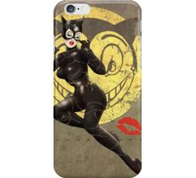 Catwoman War Pin Up Bombshell iPhone Case/Skin
