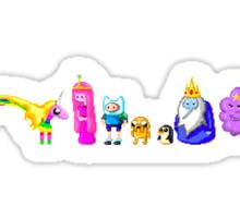 Adventure Time Pixelated Sticker