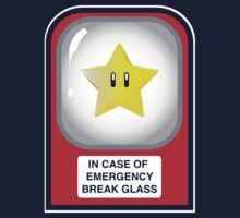 In case of emergency... (or, one for the Mario lovers) by James Lillis