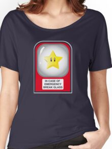 In case of emergency... (or, one for the Mario lovers) Women's Relaxed Fit T-Shirt