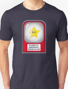 In case of emergency... (or, one for the Mario lovers) T-Shirt