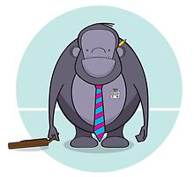 Monkey Business - Meet Tony by cottoncreative
