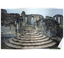Entrance to Bylands Monastery North Yorkshire England 19840602 0001 Poster