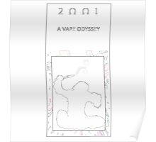 2001 Vape Odyssey - minimal Poster