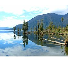 Lake Reflections Photographic Print