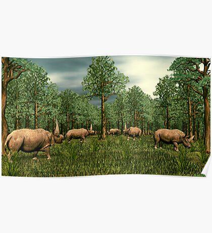Elasmotherium Poster