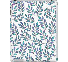 BLUE LEAVES iPad Case/Skin