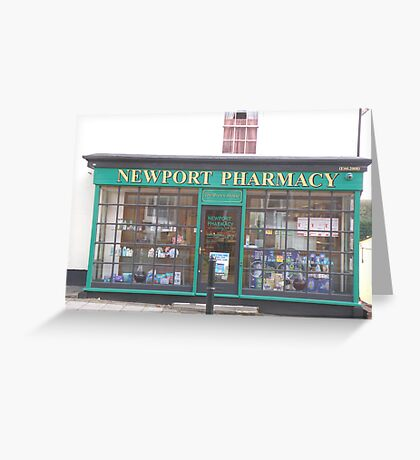 Newport Pharmacy Greeting Card