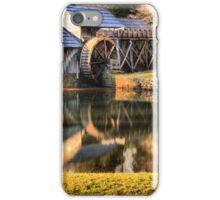 Mabry Mill Sunset Panorama iPhone Case/Skin