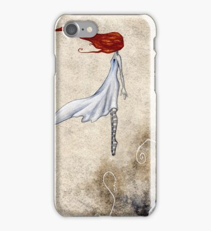 One Day She Flew Away iPhone Case/Skin