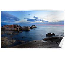 Bay of Fires Sunrise Poster