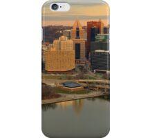 Pittsburgh Panoramic Sunset iPhone Case/Skin