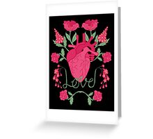 Anatomical Love Greeting Card